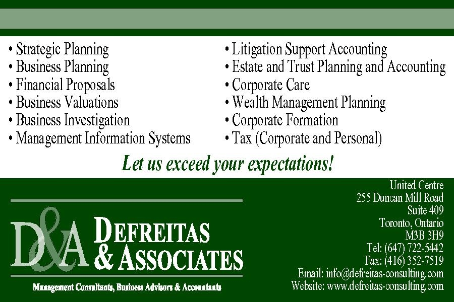 Tax time is fast approaching in canada defreitas consulting tax time is fast approaching in canada reheart Images